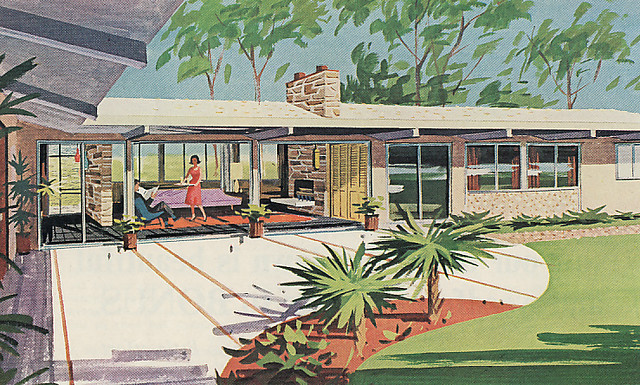 Mid century home flickr for 60 s modern homes