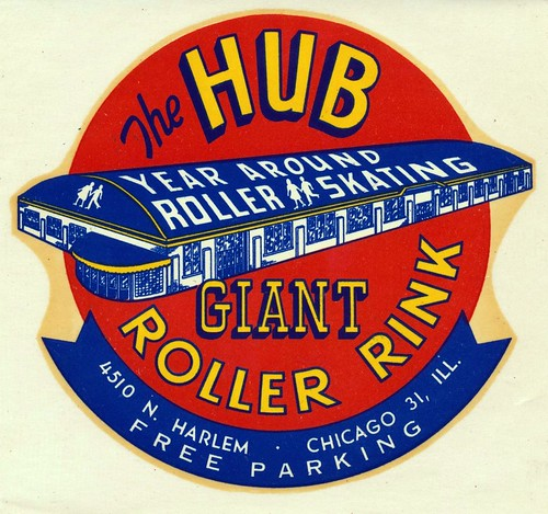 The Hub Roller Rink - Chicago, Illinois | by The J. Smith Archive