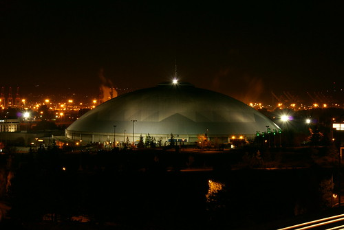 Tacoma Dome Night Slow Shutter | by Rob Green - SmokingPit.com