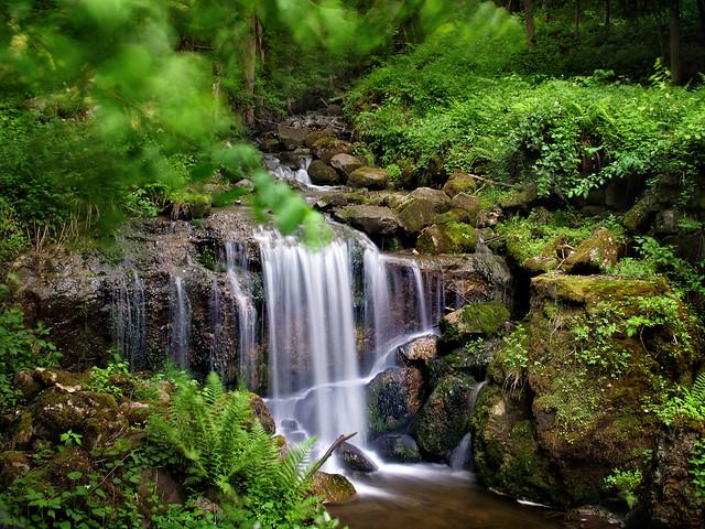 Silverfallet, Lower Falls