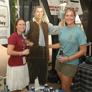Samual Adams enterteining attendees | by allaboutbeermagazine