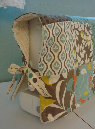 Patchwork sewing machine cover closeup | by sew bird crazy