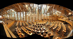 365-041 Scots Parliament Debating Chamber Panorama by @HotpixUK -Add Me On Ipernity 500px