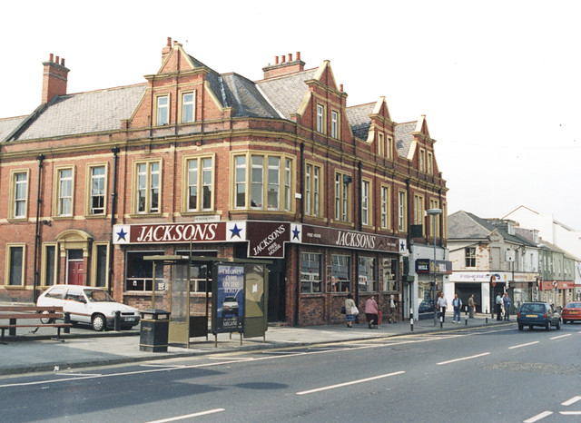 Jacksons, Shields Road, Byker 1996