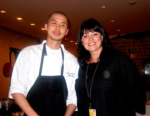 Restaurant Chef Matt Lee & Manager Heather Ogg | by jayweston@sbcglobal.net