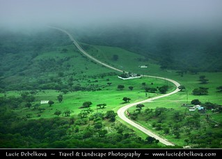 Oman - Road through Green Paradise of Salalah Mountains | by © Lucie Debelkova / www.luciedebelkova.com