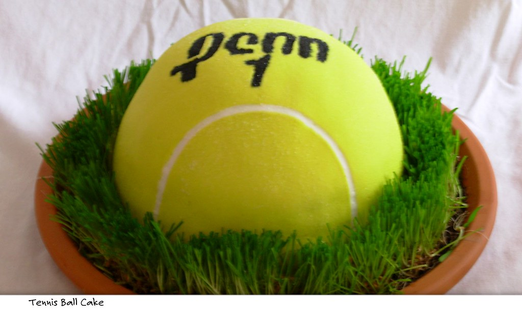 Help With Making A Tennis Ball Cake Baking Forums