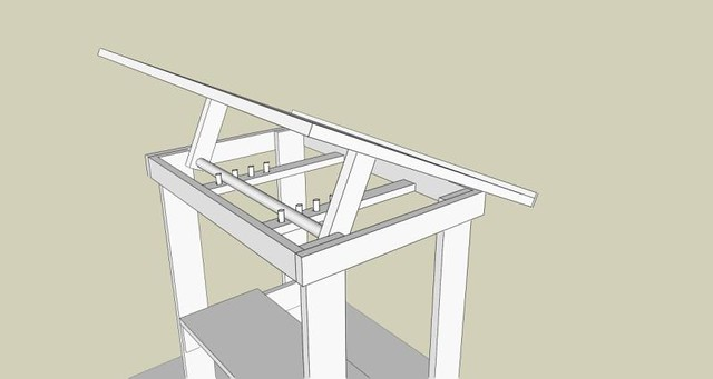 Bon Build Your Own Drafting Table, Cheap! | Flickr