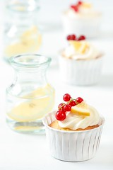 Meyer Lemon Limoncello Cupcakes | by tartelette