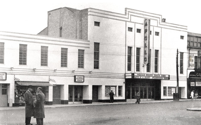 Apollo Cinema Shields Road Byker 1956