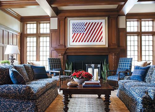Interior design by kotzen interiors llp built by fallon c for American home interior design
