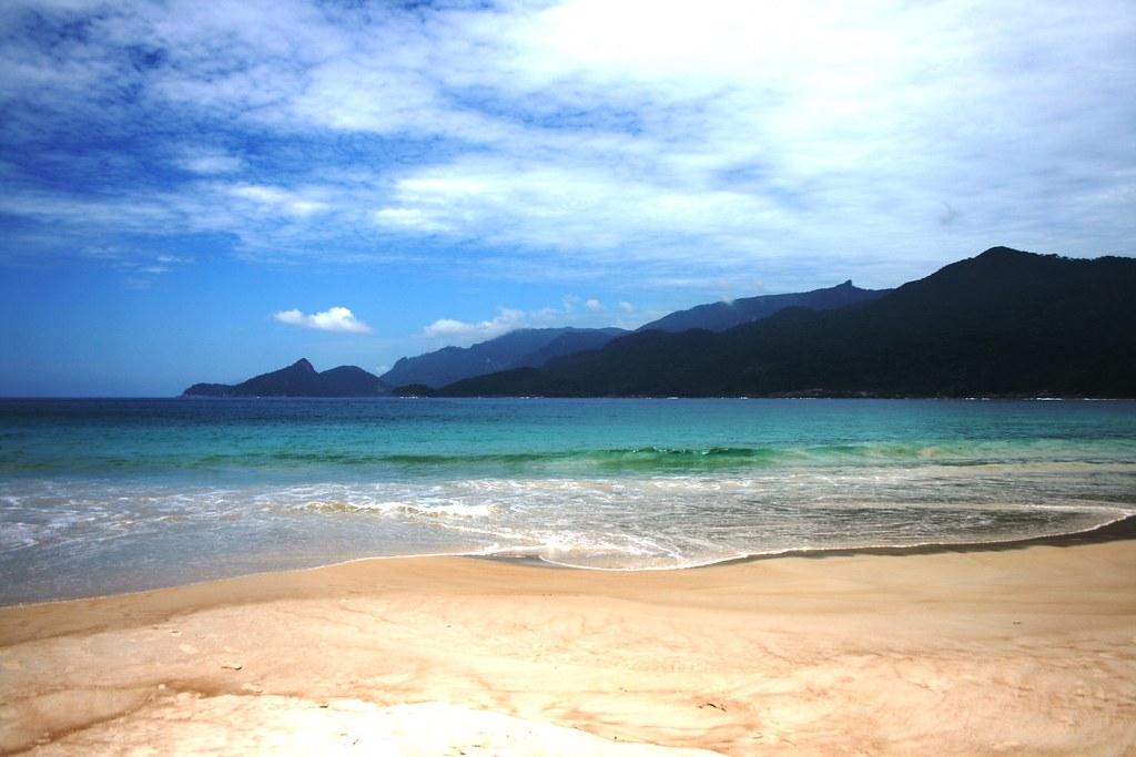 Praia Lopes Mendes; Ilha Grande, Brasil