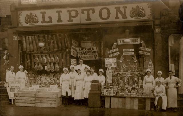 Lipton Grocers, 222 Shields Road, Byker c.1920