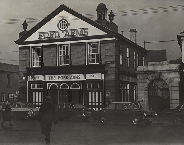 The Ford Arms, Shields Road, Byker 1967