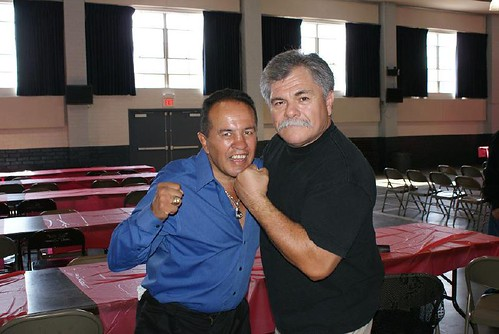 Bobby Chacon and Randy De La O