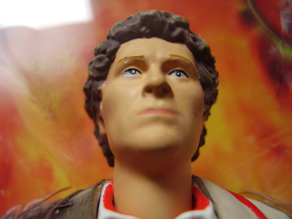 Doctor Who 6th Doctor Figure dr Who 1st 2nd 6th Doctor