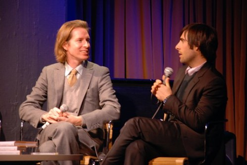 A Conversation with Wes Anderson and Jason Schwartzman at 92YTribeca