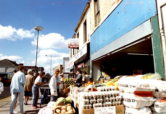 Shields Road, Byker, 1982