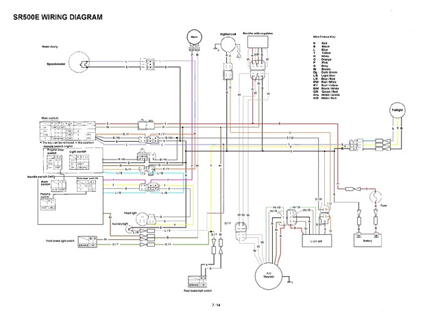 yamaha sr xt tt simple wiring diagrams flickr rh flickr com Electrical Wiring Ibanez Guitar Wiring