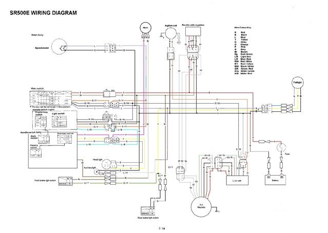 yamaha sr xt tt simple wiring diagrams flickr rh flickr com 1978 yamaha sr500 wiring diagram Goodall Start All Wiring Diagram