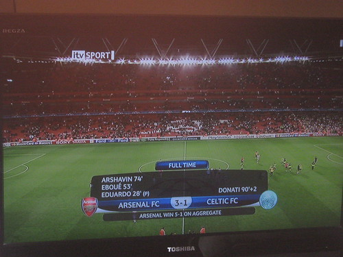 Arsenal V Celtic, Uefa Champions League Qualifying, 26/08/09 | by eamoncurry123
