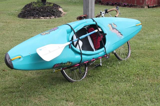 Kayak Bike Flickr