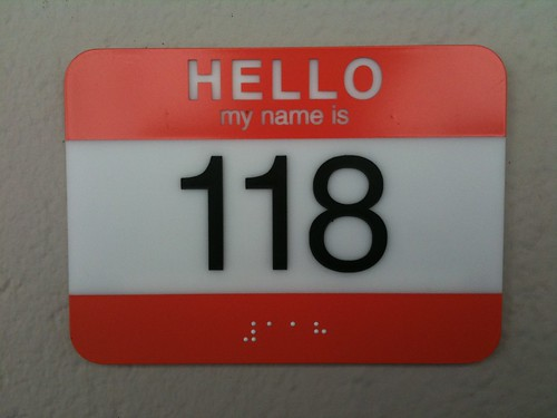 Hello, My Name Is 118 | by hober