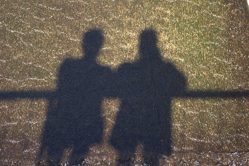 Me and my shadow - the photographer and his mate | by SteveJM2009