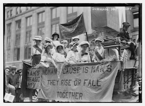 Suffrage Hay wagon  (LOC) | by The Library of Congress