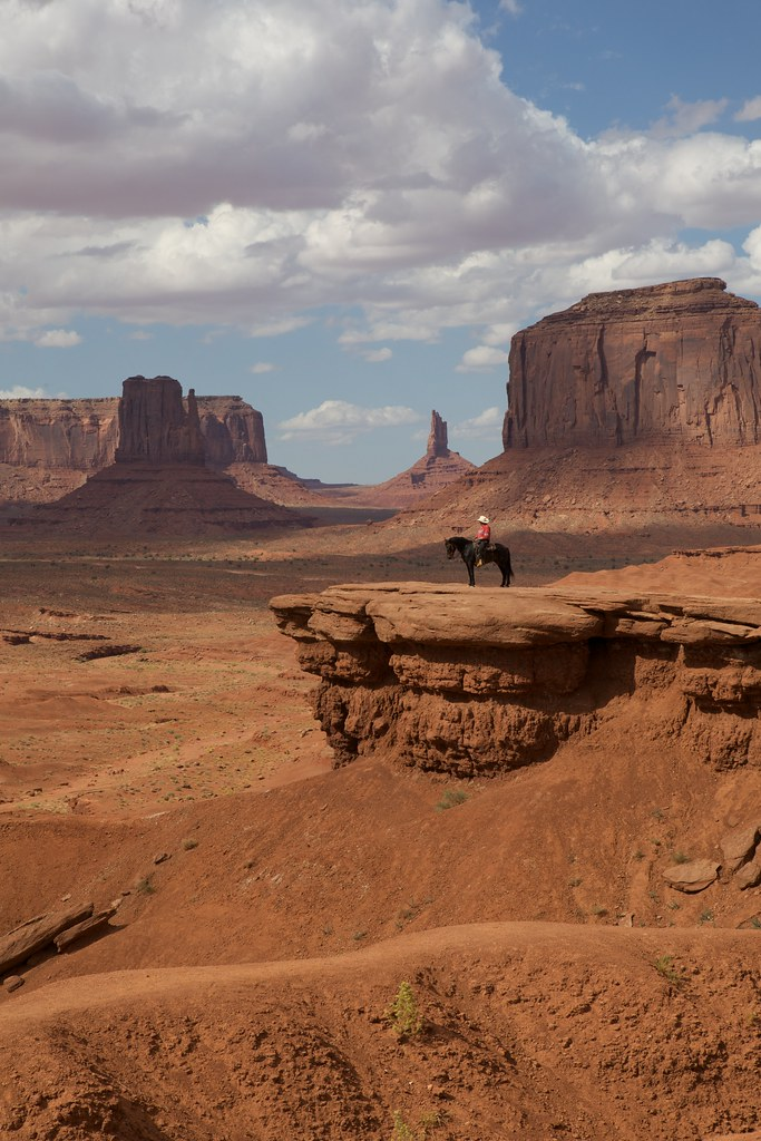 Navajo Cowboy at John Ford's Point 3 | by jfew