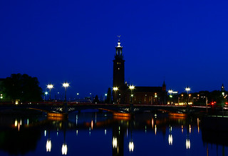 stadshuset at night | by titter85