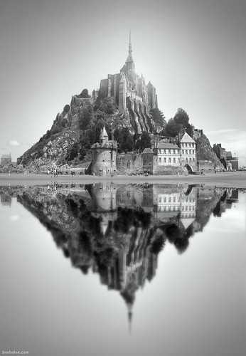 Mont Saint Michel - 2 | by Ben Heine