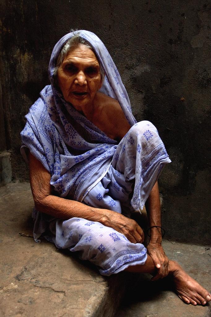 Old Age In Varanasi