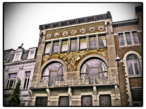 Ciamberlani House: Art Nouveau in Brussels