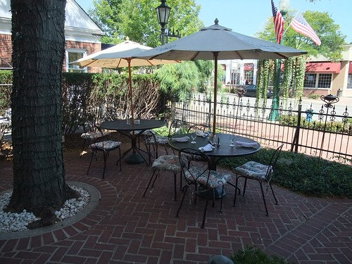 The Patio at The Worthington Inn | by swampkitty