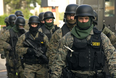 SWAT team prepared | by OregonDOT