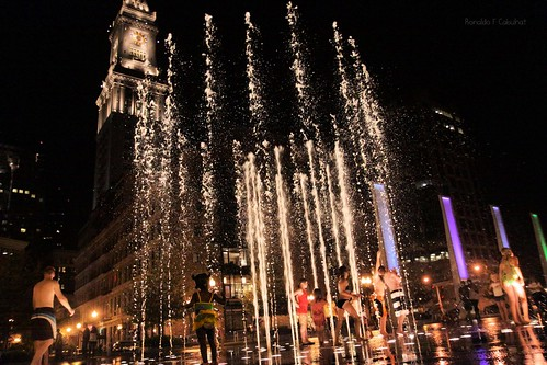 Rings Fountain Of Boston | by Ronaldo F Cabuhat