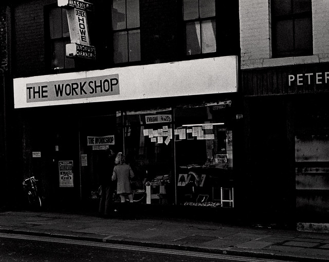 St. Silas Church Workshop, Shields Road, Byker 1975