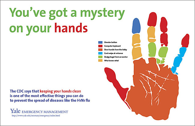 Hand Washing Posters from Yale University | Flickr
