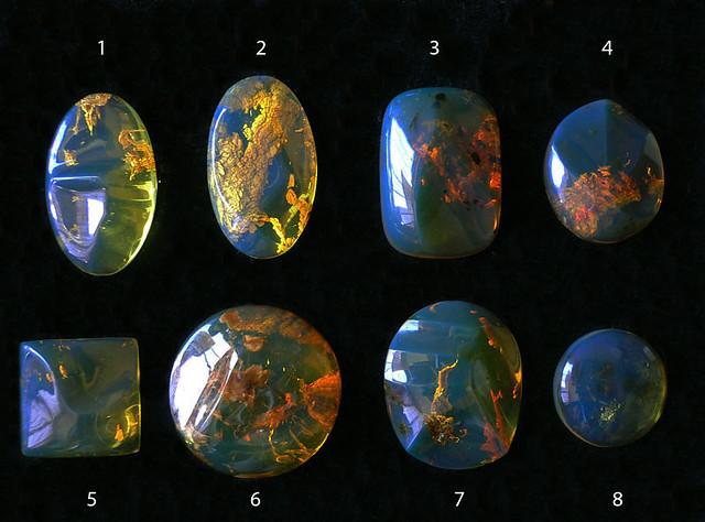 Dominican Blue Amber Jewelry
