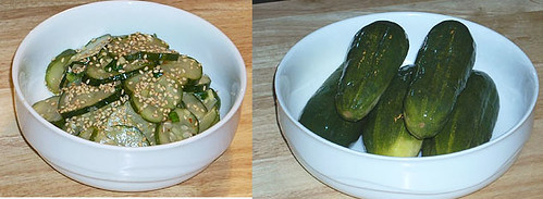 kerri's made oijangajji (cucumber pickle side dish) | by maangchi