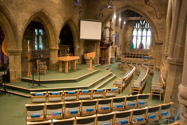 Church Building - Interior