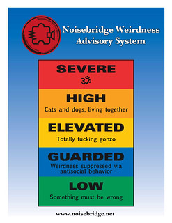 Noisebridge Weirdness Advisory System | by T bias