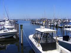 A view Of Highlands, NJ Marina by Glapatamear