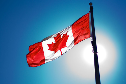Canadian flag | by Christopher Policarpio