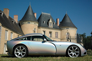 TVR T350T outside a Chateau | by Jo Pugh Photography