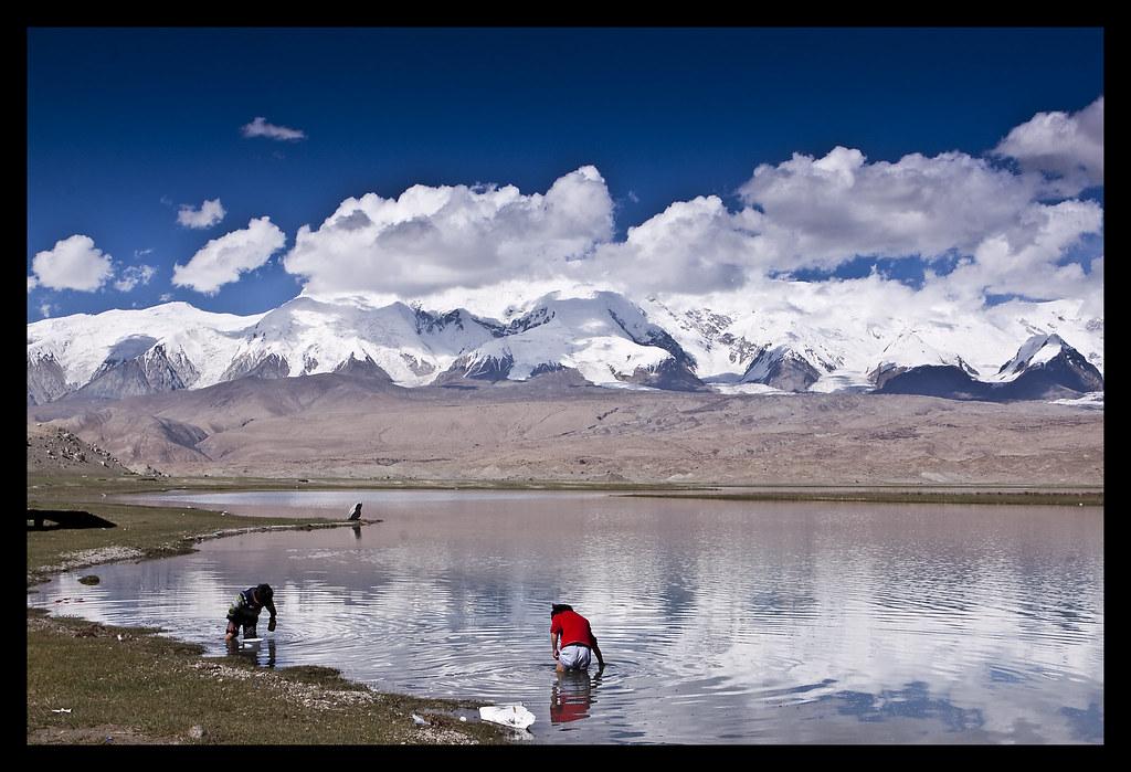 Karakul Lake Map Karakoram Highway Karakul Lake