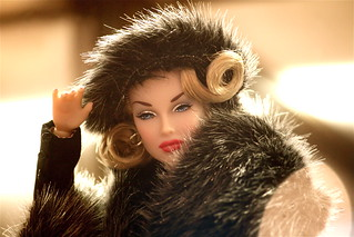 barbie blond hair fur coat | by photographynatalia