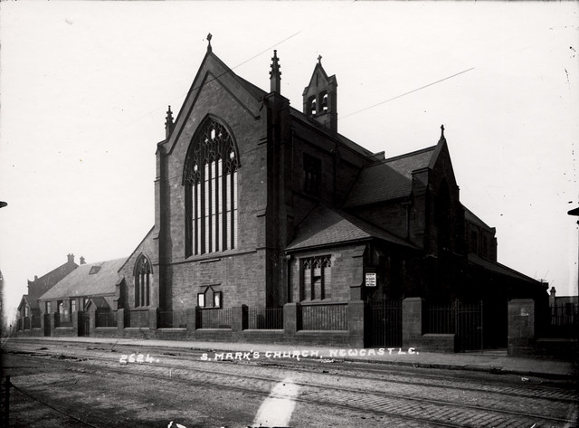 St. Mark's Church, Shields Road, Newcastle upon Tyne c.1910