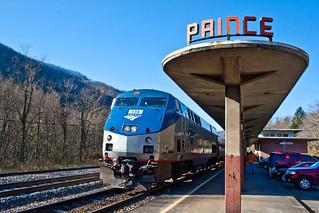 Amtrak's The Cardinal - Prince, WV | by jpmueller99